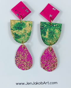3-Tier Earrings S #18