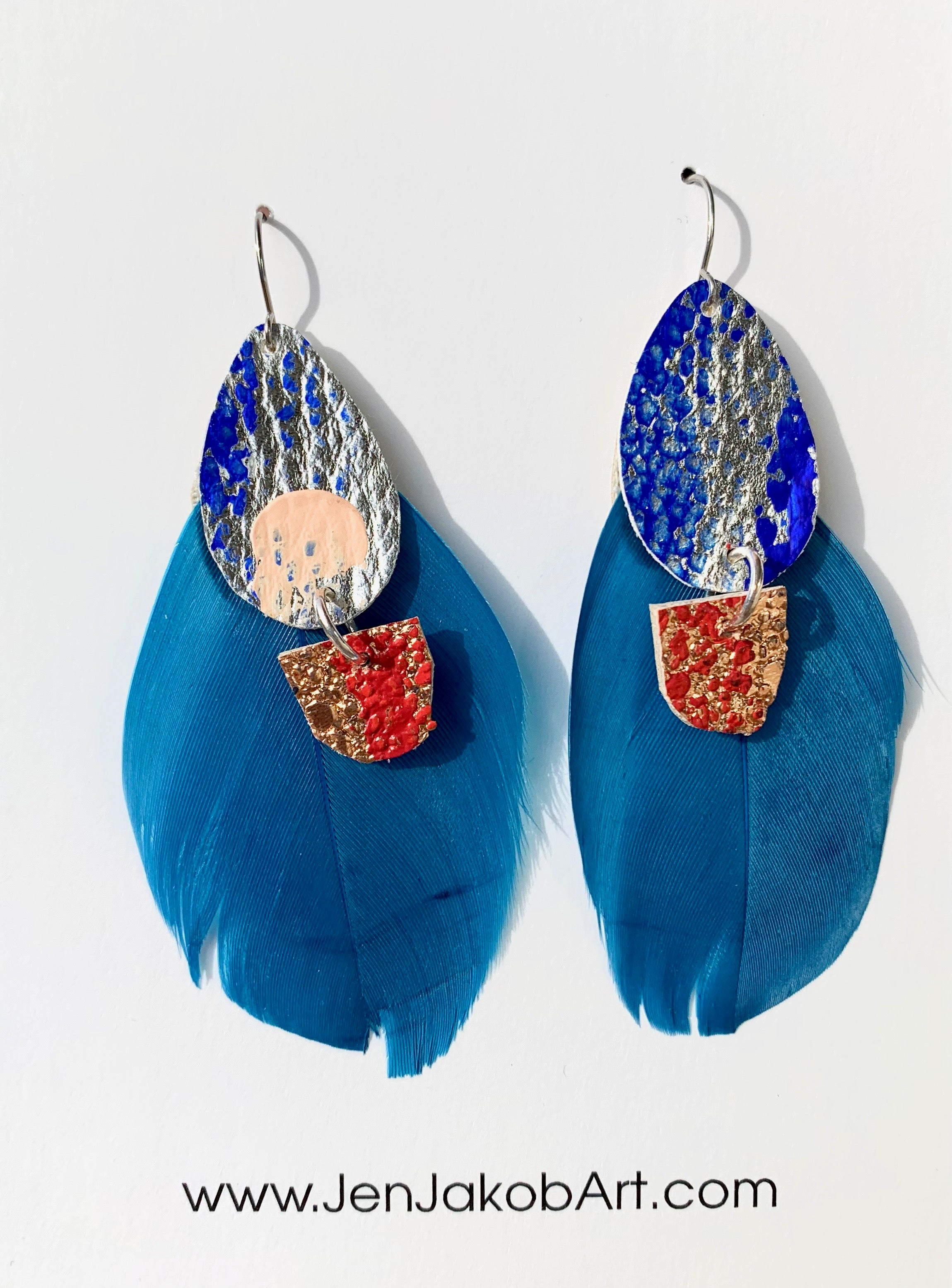 Feather Earrings #6
