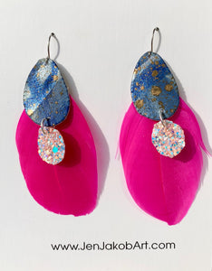 Feather Earrings #3