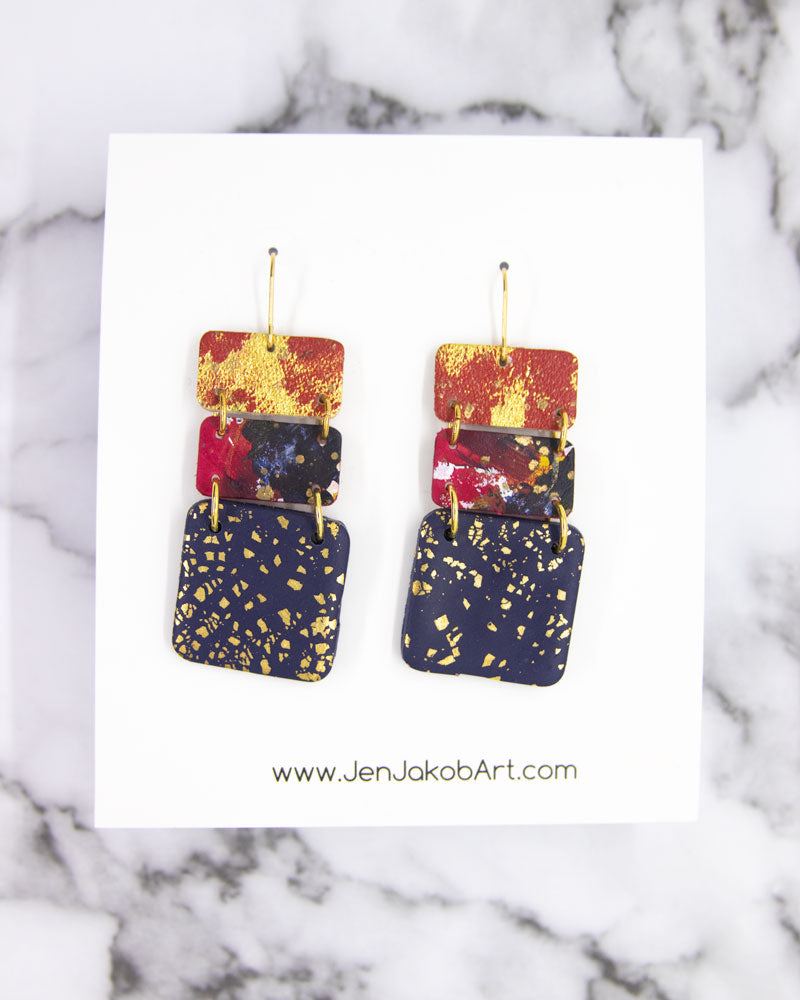 3-Tier DELUXE Earrings #3