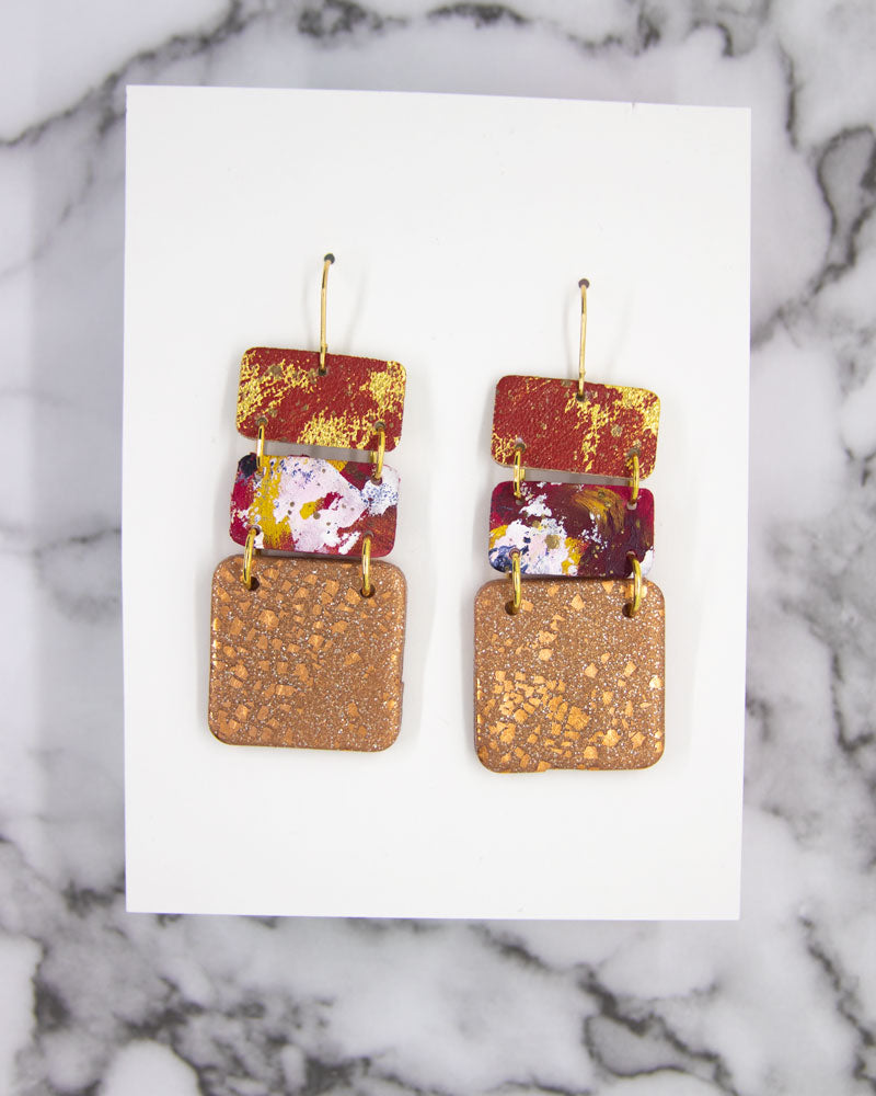 3-Tier DELUXE Earrings #8