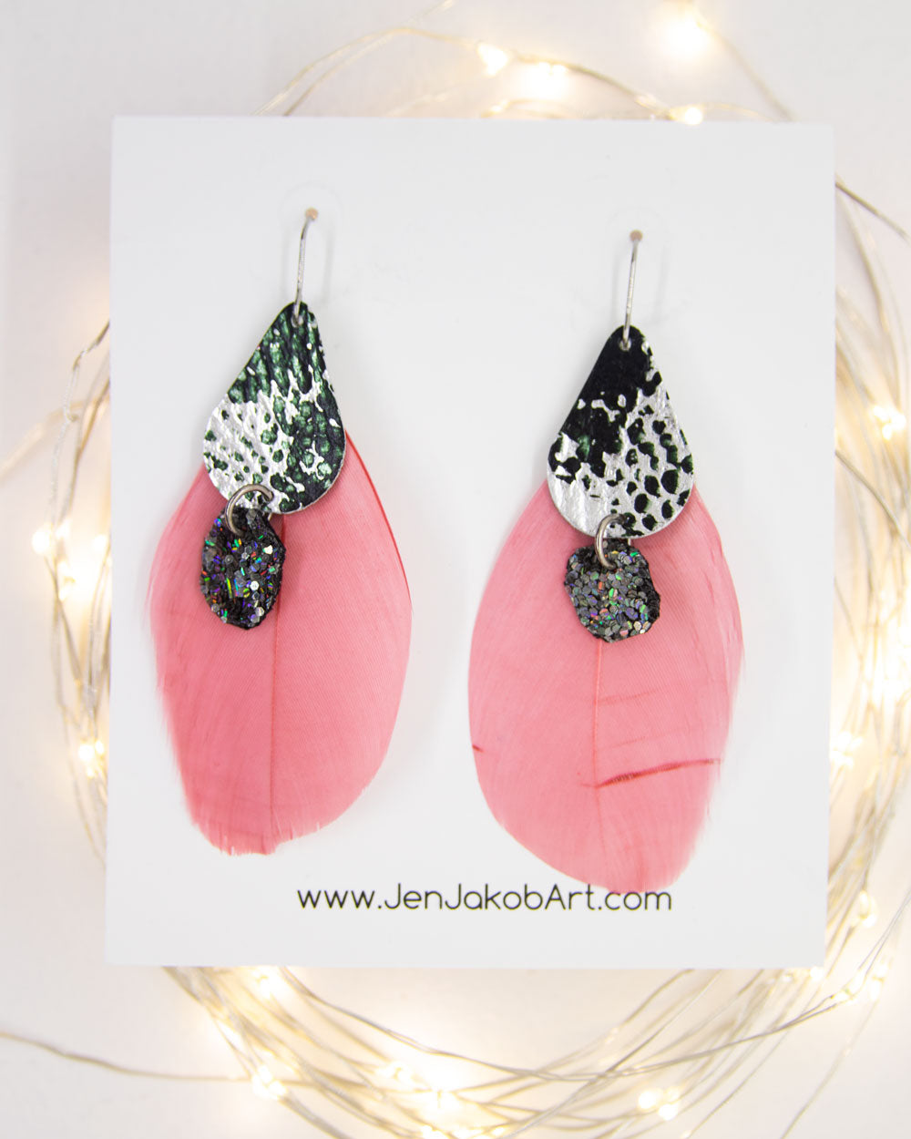 Feather Earrings #5