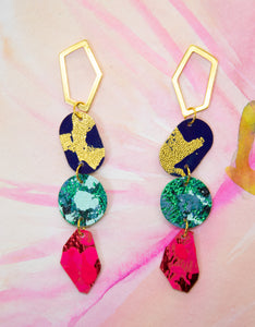 4-Tier Statement Earrings #1