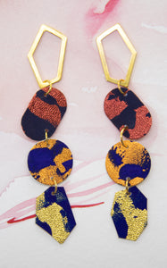 4-Tier Statement Earrings #4