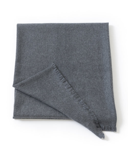 CHYANGRA CASHMERE OVERSIZED WRAP / THROW