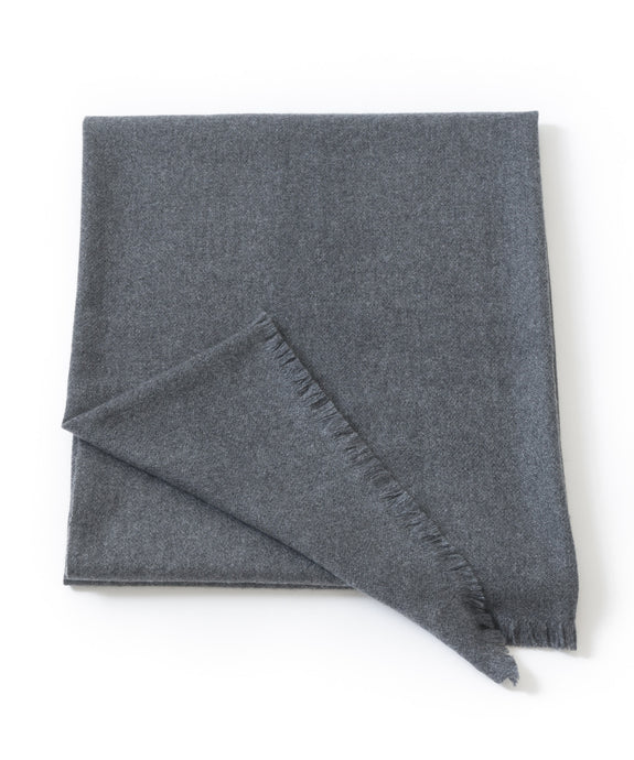 CHYANGRA CASHMERE OVERSIZED WRAP/THROW