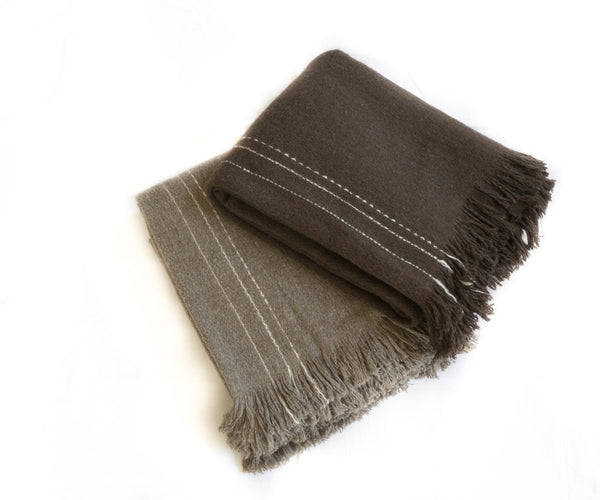KHULLU STRIPED THROW