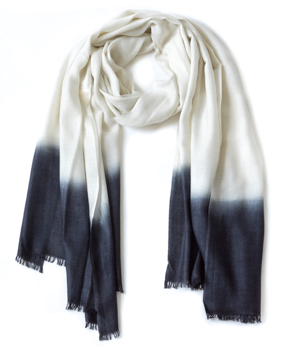 TANTA SCARF - EDGE DIPPED