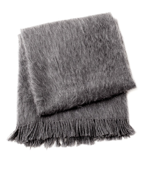ARMANDO BRUSHED ALPACA THROW