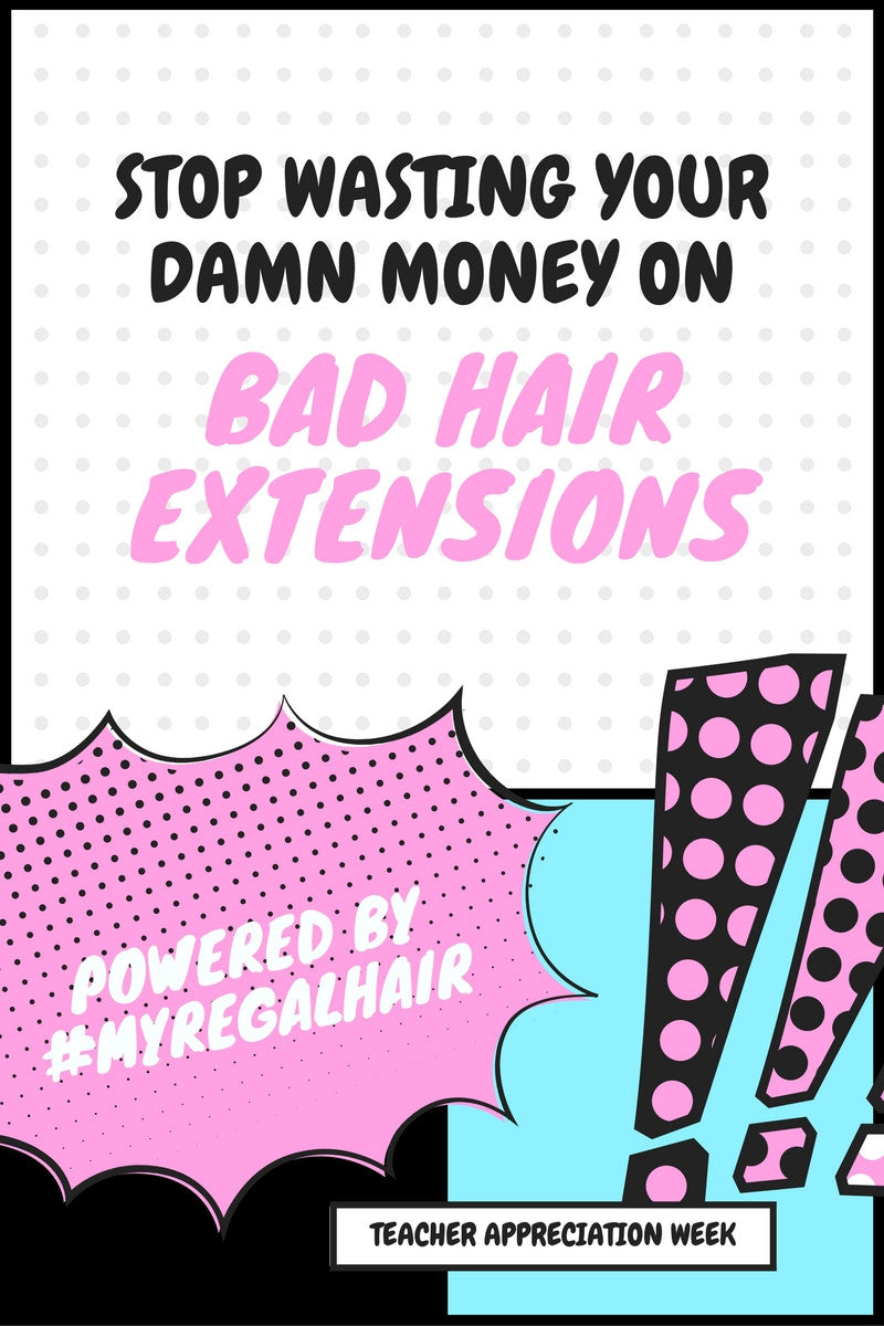 Wasted Thousands On Hair Extensions