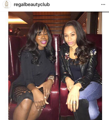 CEO with Monique Samuels of The RHOP