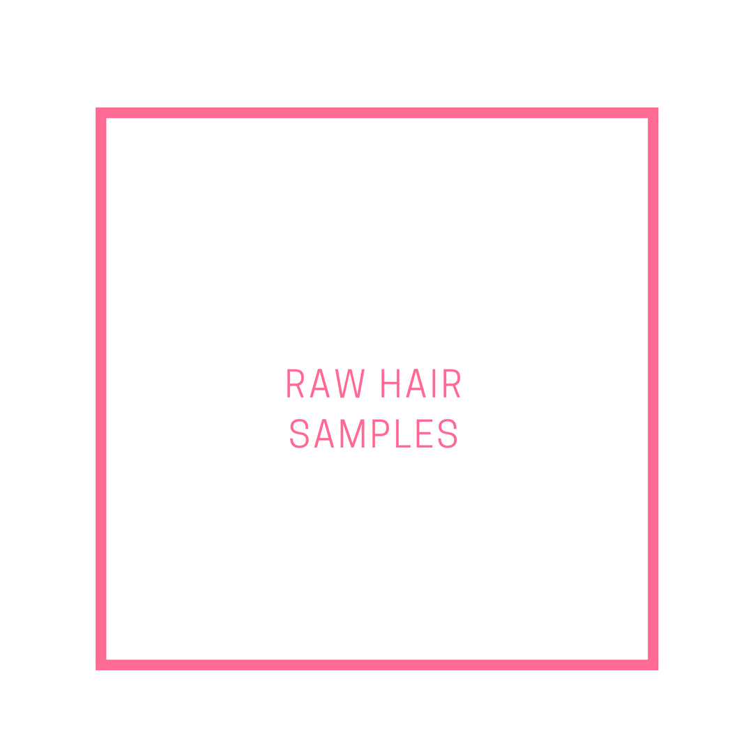 Raw Hair Sample