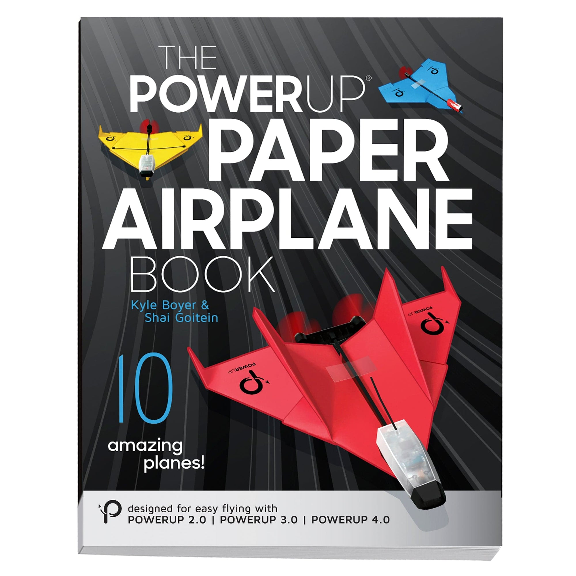 POWERUP Paper Airplane Book