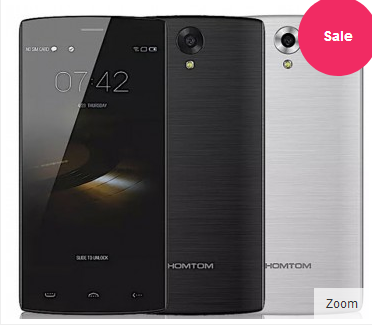 DOOGEE HOMTOM HT7 Pro 2GB 16GB Android 5.1 MT6735 Smartphone 5.5 inch 13MP Camera Dark Gray