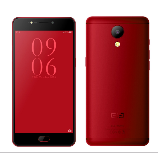 Elephone P8 Octa Core Helio P25 RAM 6GB Android Smart Phone Wine Red 64GB