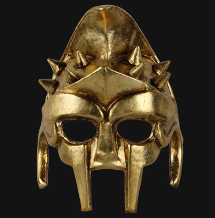 The Gold Gladiator Masquerade Mask