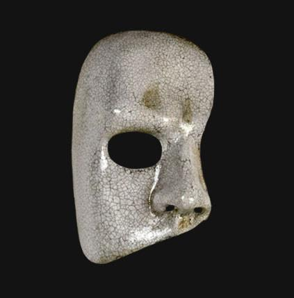 Phantom of the Opera Marble Masquerade Mask