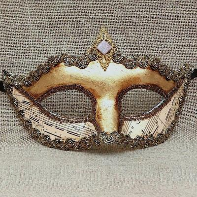 Colombina Gold Crown Duo 2 Masquerade Mask