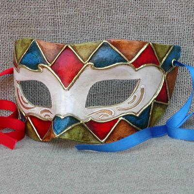Colombina New Harlequin 3 Masquerade Mask