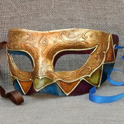 Colombina New Harlequin 6 Masquerade Mask