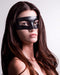 Mado Leather Black Masquerade Mask
