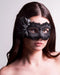 Colombina Fiore Black Masquerade Mask