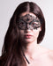 Black Queen Stras Masquerade Mask