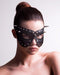 Morgan A Black Masquerade Mask