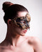 Colombina Barocco Sole Bronze Masquerade Mask