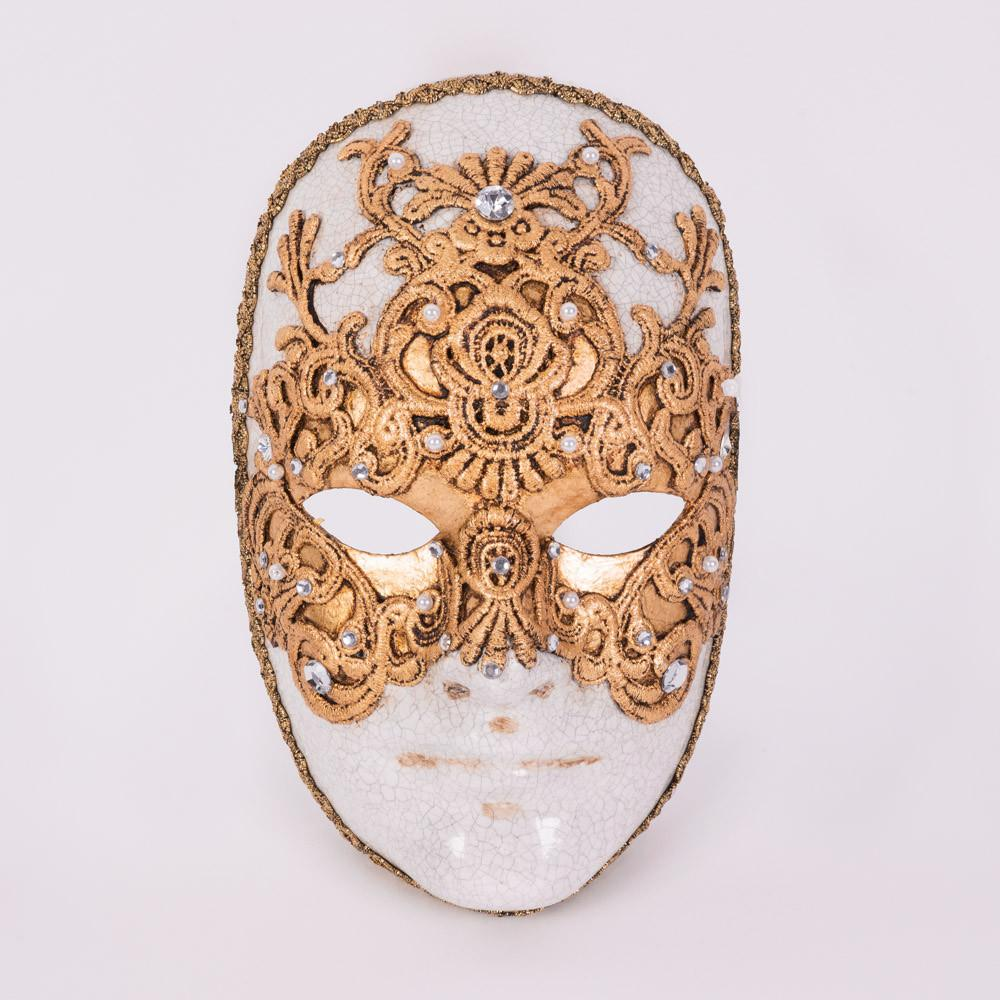 Tom Cruise 'Eyes Wide Shut' Gold Masquerade Mask