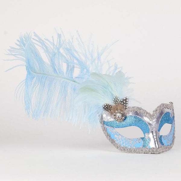 Colombina Can Can Silver Sky Blue
