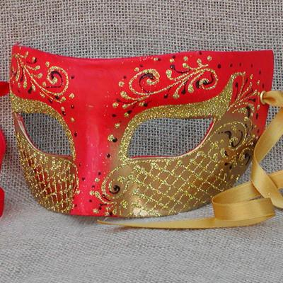 Colombina Heartbreaker Red Masquerade Mask