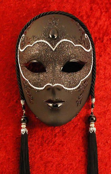 Black Panther Masquerade Mask