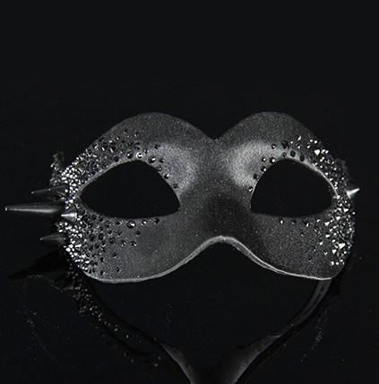 Colombina Bling Black Masquerade Mask