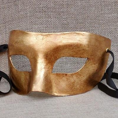 Colombina Gold  1 Masquerade Mask