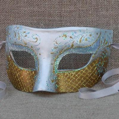Colombina Heartbreaker Blue Masquerade Mask