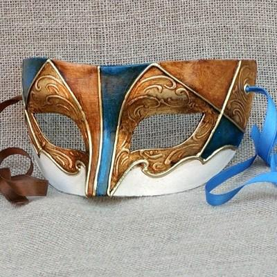 Colombina New Harlequin 4 Masquerade Mask
