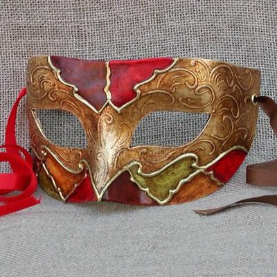 Colombina New Harlequin 5 Masquerade Mask