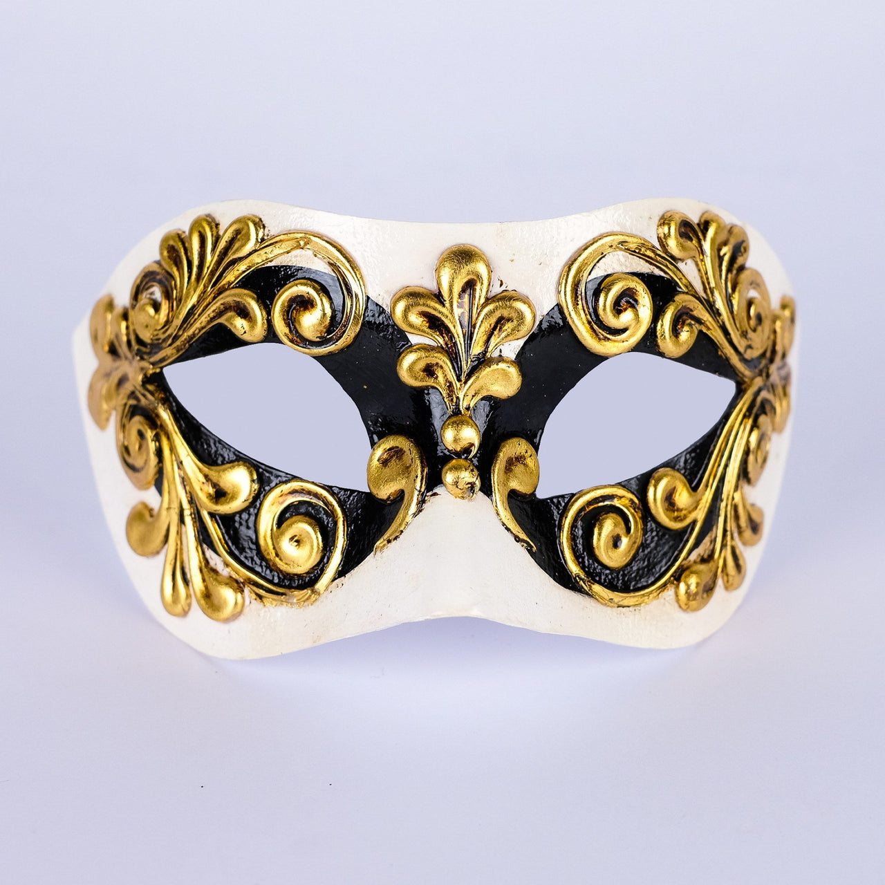 Colombina Occhi Black Masquerade Mask