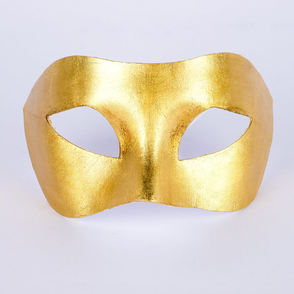 Colombina Piana Gold Masquerade Mask