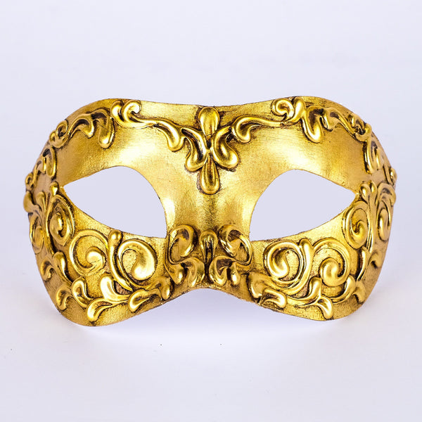 Colombina Stucchi Gold Masquerade Mask