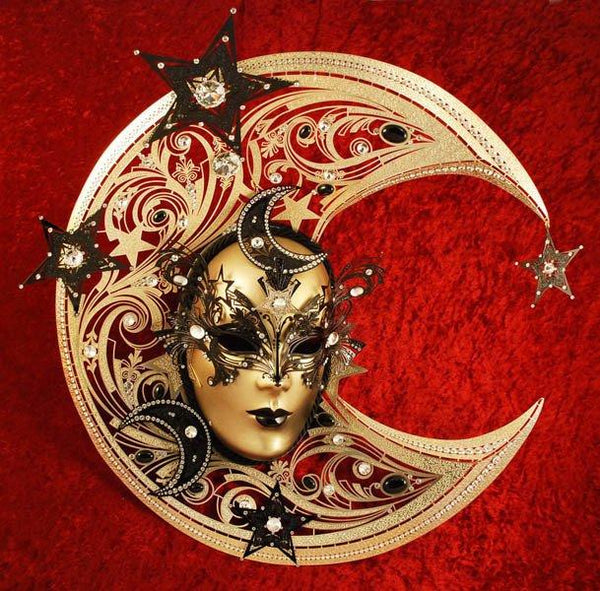 Fantastic Moon Masquerade Mask