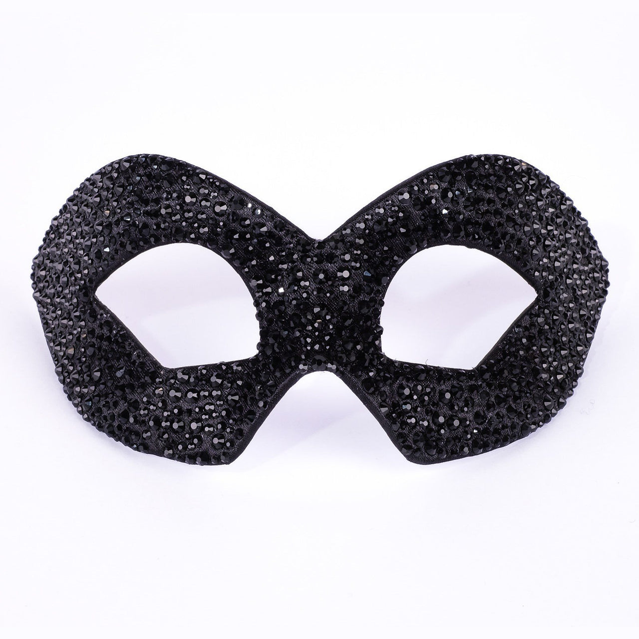 Hero Strass Black Masquerade Mask