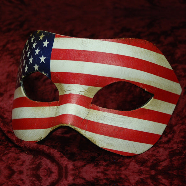 Stars & Stripes Masquerade Mask