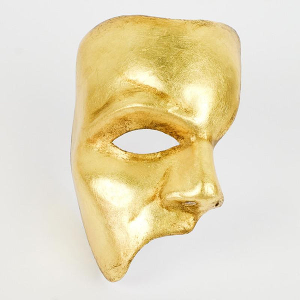 Phantom of the Opera Gold Masquerade Mask
