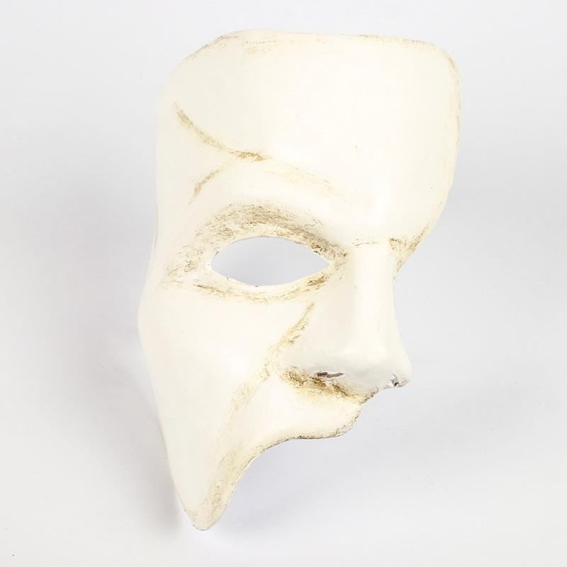 Phantom of the Opera White Masquerade Mask