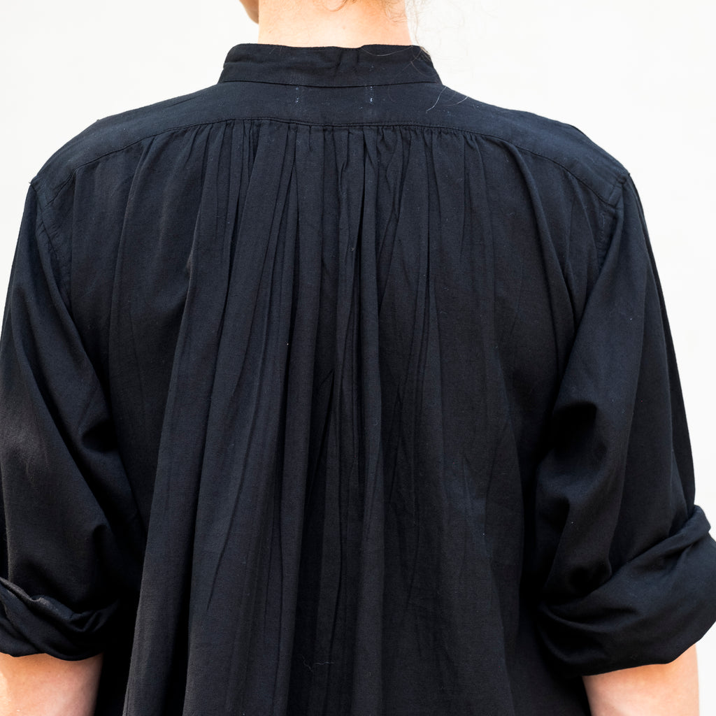 Montbéliard Shirt Pleats Black