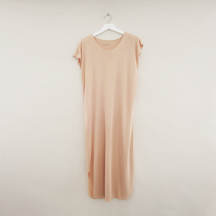 Bali Tee Dress Nude