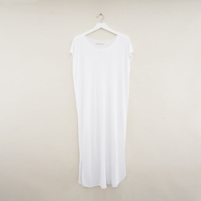 Bali Tee Dress White