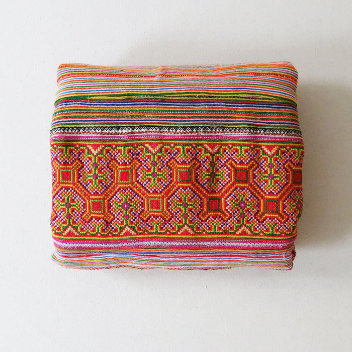 Hmong Blanket Orange